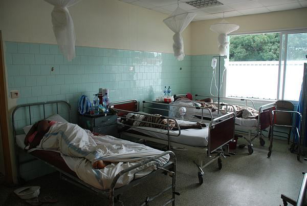 One of the general wards at the Saint Joseph´s Catholic Hospital, Monrovia, Liberia (Photo: Mundo Negro)