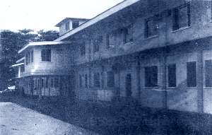 The Saint Joseph Catholic Hospital in Monrovia, Liberia, in 1967.