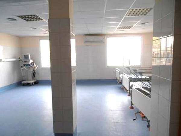 The Intensive Care Unit at Saint Joseph´s Catholic Hospital, Monrovia, Liberia.